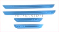 Stainless steel Door sill scuff plate fit for VW GOLF 4 5 6 MK6 MK4 1999-2014