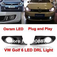 Osram LED 2012 Volkswagen golf 6  LED daytime running light 12V dedicated DRL