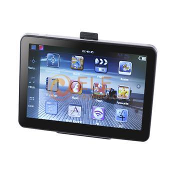 Car GPS 7 Inch Navigation System 128M 4GB FM