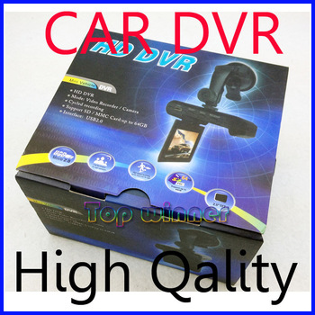"100% Cheapest price! - 4 IR LED Night Vision Car DVR/Car video recorder 2.5"" TFT LCD Motion Detect +Freeshipping"