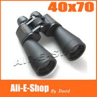Military Outdoors HD Galileo 40X70 Binoculars with Night Vision Galileo Binocular Telescope with 1000 Meter Range Free Shipping