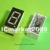 "20 PCS LD-3161BG 1 Digit 0.36"" GREEN 7 SEGMENT LED DISPLAY COMMON ANODE"