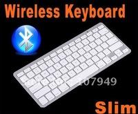 10X Slim Wireless Bluetooth Keyboard for iPad2 ipad3 iPhone iPod Touch PS3, Free Shipping