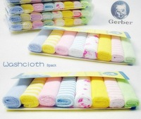 free ship baby bibs infant 100% cotton saliva towel ,baby kids bibs 8pcs of 1lot