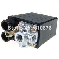 Wholesale price shipping, 4 Ports Air Compressor Pressure Switch Control Valve  90-120 PSI