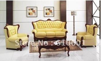 sofa>>classic leather sofa>>2011 hot leather furniture sofa U001