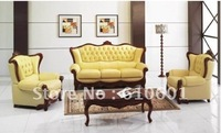 sofa>>classic leather sofa>>2011 hot leather furniture sofa U001