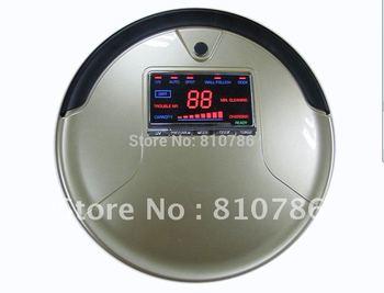 For Russian Buyer /Li-ion Battery/ Big Rubblishi Box 1L/Big LCD Screen/ 3 In Multifunction Robot Vacuum Cleaner M-788A