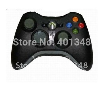 wholesale & retail  black Wireless game controller for X360 Free shipping