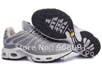 Free Shipping New Arrival Style TN shoes with tag Men's Running Sport Trainers Shoes size:41-46-grey