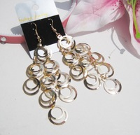 Min order is $10(mix order) - 1 pair two colors new   earrings  very popular style good quality