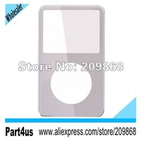 White Front Cover Panel FacePlate Housing For iPod Video