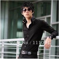 2014 Hot Sale Free Shipping New Mens Shirts Casual Slim Fit Stylish Mens Dress Shirts Men Fashion Shirts