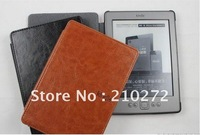 hotsale book style leather Case for kindle 4 /kindle 5 Amazon , leather Cover for kindl 4 / kindle 5 free shipping