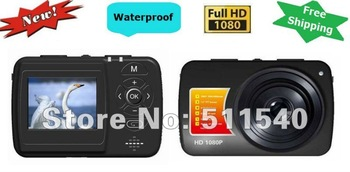 """NEWEST 1.5"""" TFT Display HD 1080P Outdoor Sports Video Camera 5.0M CMOS Waterproof Camera Mini DV Camcorder Free Shipping TH22"""