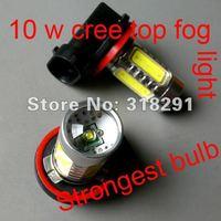 Wholesale H11 H8 9006 hb4  11W Car LED Fog Lamp Automobile Light Bulbs Wedge High power cree Q5  top
