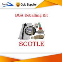 BGA Reballing Kit 16pcs PS3 Heat Direct BGA Stencils+Reballing Jig+Anti-static Tweezer+Other BGA Accessories