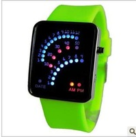 The mountaineering Table LED multi-function fashionable electronic watches free shipping