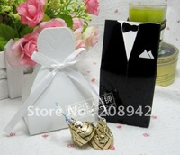 Best selling! EMS Free shipping! 100 pcs/lot bride and groom box favorite boxes packaging box . Retail/wholesale