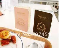 DHL Free shipping !50pcs/lot Wholesale NEW passport cover Fashion Style Passport Holder /Korean Style