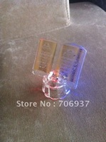Free Shipping,Grade A K9 Crystal Quran with led lights for promotional gifts,designand logo OEM