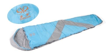 1person   cotton  outdoor sleeping bag,200g filling ,Mummysleeping bag