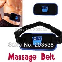 Dropshipping AB Gymnic Electronic Muscle Arm leg Waist Massage Belt Body Building Belt