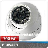 (C1103-SH) 1/3 inch Sony CCD 700TVL OSD Control anti-vandal dome ir camera
