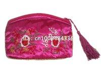 Free shipping! wholesale12 pcs New Fashion Women  Wallet  makeup bag  Receive bag