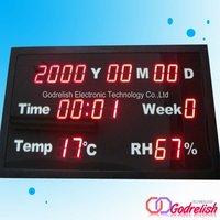 High quality led wall clock