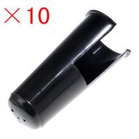 freeshiping top grade Bb clarinet mouthpiece cap ,black,plastic clarinet parts accessories