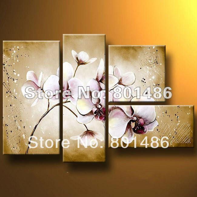 Online kopen wholesale orchidee foto 39 s uit china orchidee foto 39 s groothandel - Eigentijdse muur ...