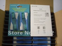 400pcs/lot(4pcs=1pack)Neutral packaging Sonic SR12A.18A bristle Sonic replacement electric toothbrush head Free shipping via DHL