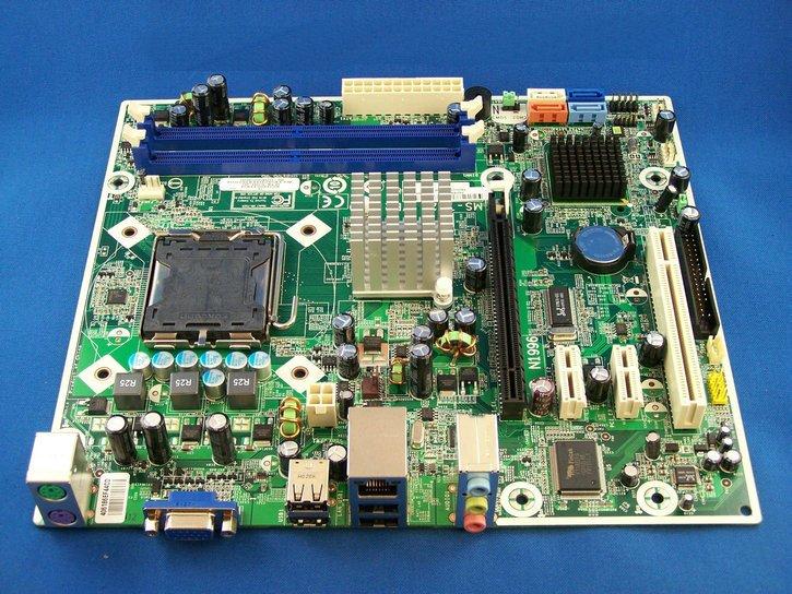 HPのマザーボード517069-001 ただいまMSIのマザーボードプレ