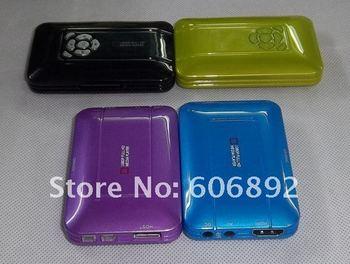 Smallest Mini Full HD 1080P Aluminum HDMI MKV Media Player ,Free Shipping