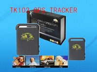 TK102 Vehicle/Car GPS tracker Car Alarm GPS 102 Quadband cut off fuel Portuguese language