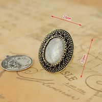 R1134 Europe  America restore ancient ways adorn article sand glass ring Free Shipping