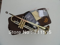 Bach TR-600 type small series of brass instruments cupronickel in section inventory Bb trumpet