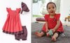 Wholesale New skirt + short pants+headband 3pcs Baby Clothing Set Baby Clothes 1 color 3 size new baby clothing set lasogo sale