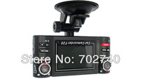 Wholesale F20 HD1080P H264 Dual lens Car Vehicle Dash Dashboard Camera DVR Remote Control 60fps