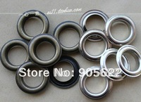 Antique brass  and Silver color grommet,metal eyelet, shoe eyelet ,100PC/LOT   Free shipping