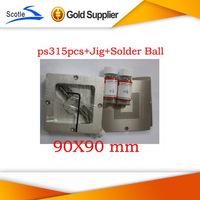 for Ps3 Bga Reball Kit 15pcs Stencil 90mm+1 set Reballing Station Scotle ht-90+2 bottles 25K Leaded Solder Ball 0.6mm 0.76mm