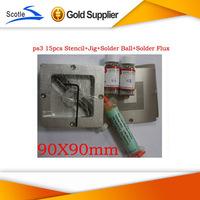 for Ps3 Bga Reballing kit Stencil + Reballing jig+Solder Ball +Solder Flux