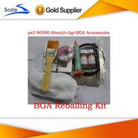 for Ps3 Bga Reballing kit Stencil + Reballing jig+Solder Ball +Solder Flux Amtech 223+other free gifts