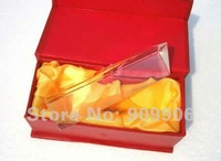 TRIANGULAR PRISM 6 inch Science LIGHT Education Physics Teaching Optical Glass Prism WHOLESALE 20% OFF (251:275:11)