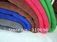 Free Shipping-10PCS Micro Fiber Towels Car Washing Cleaning Towels Home Cleaning Towel Gift Towels 33*65cm Wholesale&Retail