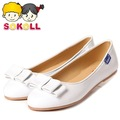 Presale SoKoll Brand White Bowknot Children Kids Girl Shoes Size #9-#5