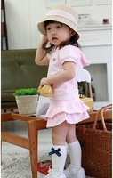 5 pcs Hot Sale High Fashion baby dress sets/Girl Dress/ kid's dress suit children dress set wholesale 90-100-110-120-130