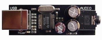 MINI PCM2704 HI-FI USB DAC SOUND CARD BOARD hi-fi ELNA Capacitance for it
