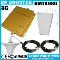 Wholesale UMTS980 WCDMA 2100Mhz 3G mobile phone signal repeaters UMTS 3G cell phones boosters LPAD 3G antenna coverage 2000M2